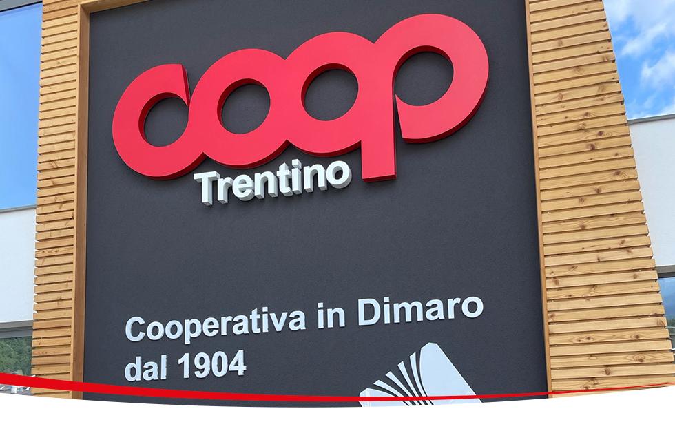 La Coop di Dimaro sceglie le etichette elettroniche Systec Mima