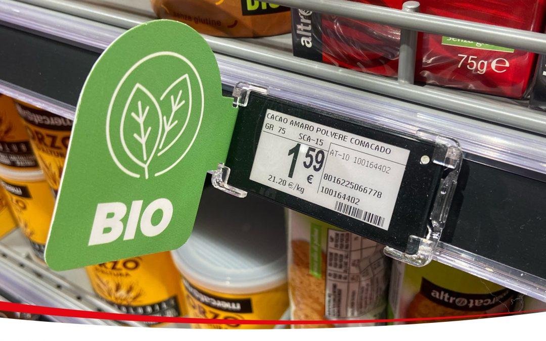 Le etichette elettroniche Nebular arrivano in Alto Adige, nella nuova Koncoop di Piazza Walther